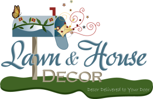 Lawn & House Decor Logo Design, Illustrator CS2