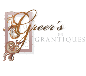 Greers Grantiques Logo design, Copyright Francesca Cornell 2009