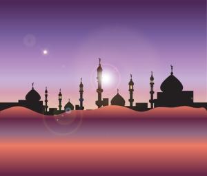 Moroccan cityscape