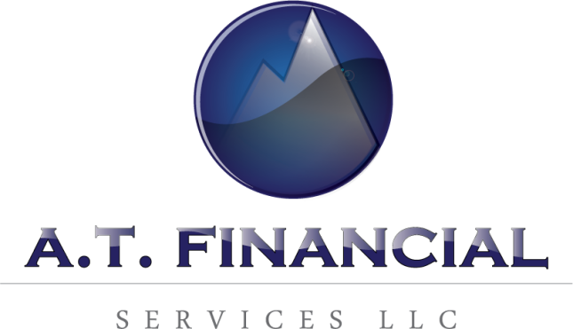A.T. Financial Services Logo Design